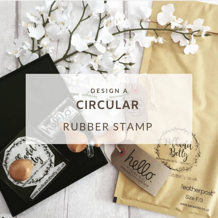 Round Rubber Stamps