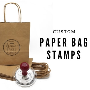 Paper bags stamps